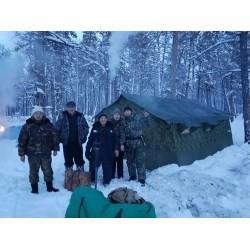 Мобильная база отдыха (зимний вариант)
